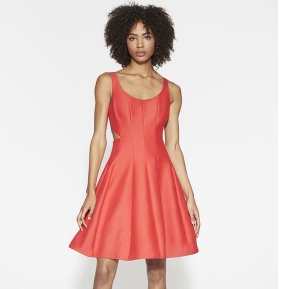 Halston Heritage Dresses & Skirts - New with tags Halston heritage mini cut out dress